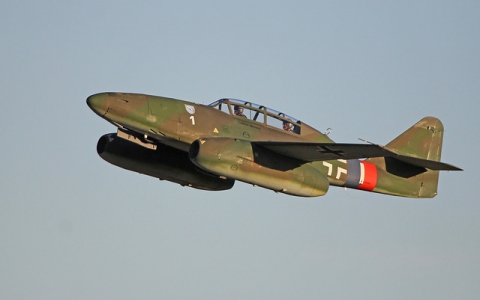 "Me-262 ""White One"" Test Flight Update » Warbird Recovery"